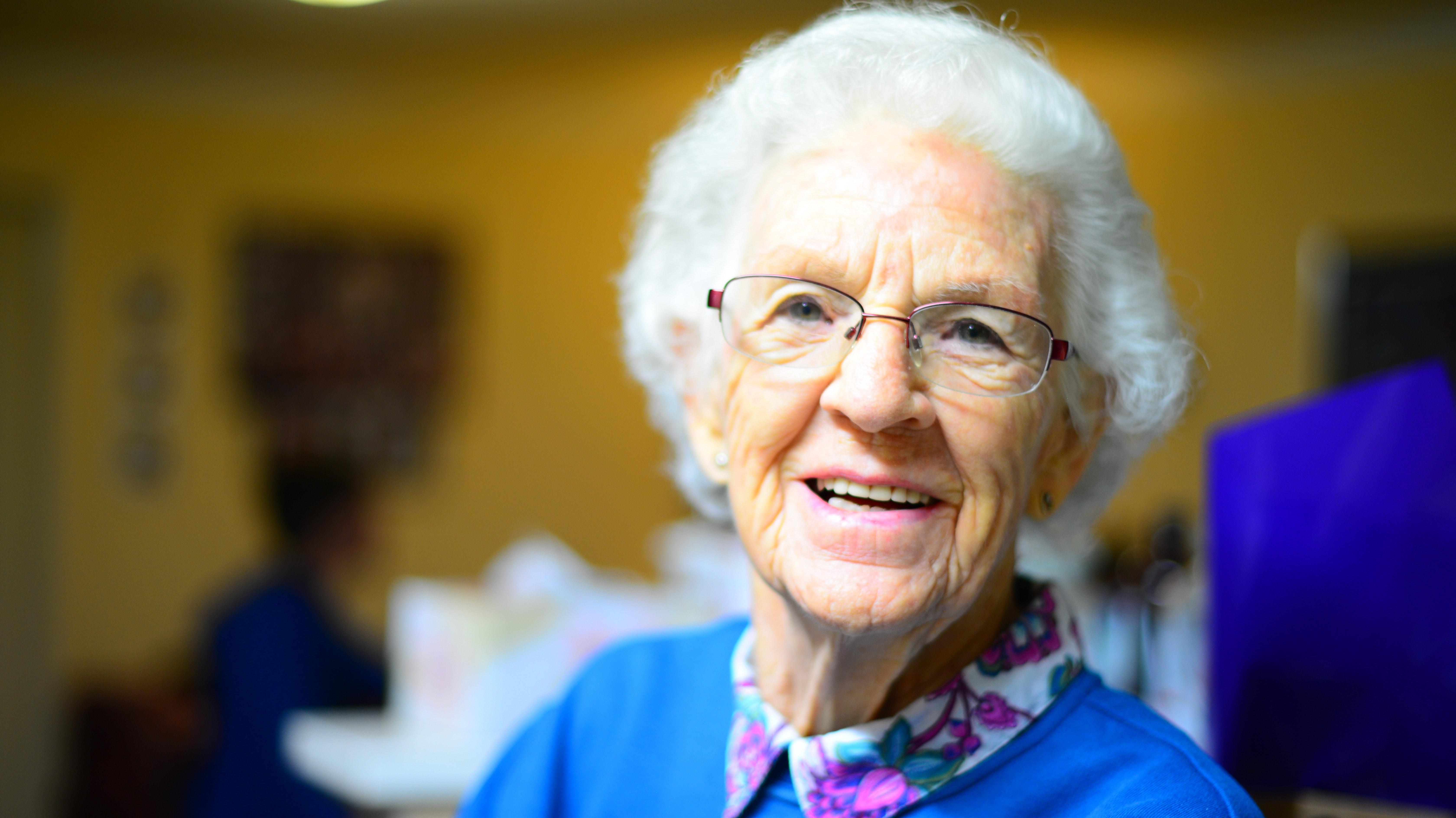 grandma getting ticket